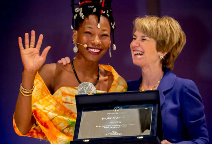 Art for Peace Award - Fatou and Kathleen Kennedy Towsend © Impronte Photography