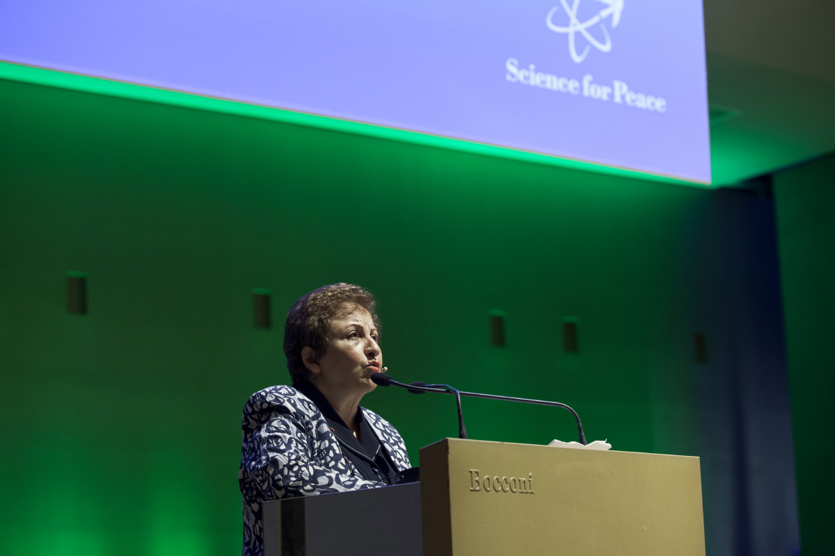 Science for Peace 14/11/14 - Shirin Ebadi Discorso di Apertura