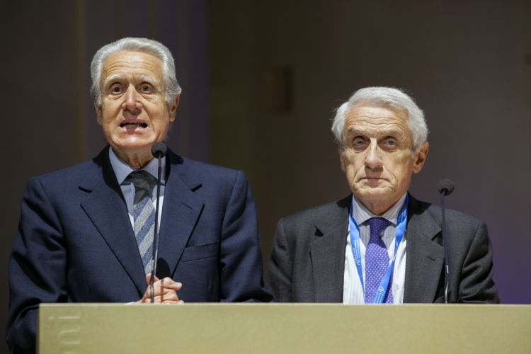 VII Conferenza Mondiale - Giancarlo Aragona e Alberto Martinelli, Vice Presidenti di Science for Peace