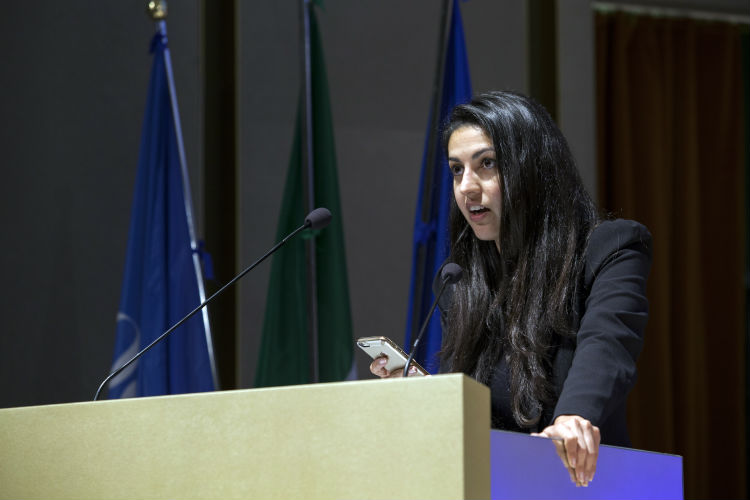 VII Conferenza Mondiale - Yasmin Vafa, Direttore della Divisione di Leggi e Politiche, Human Rights Project for Girls