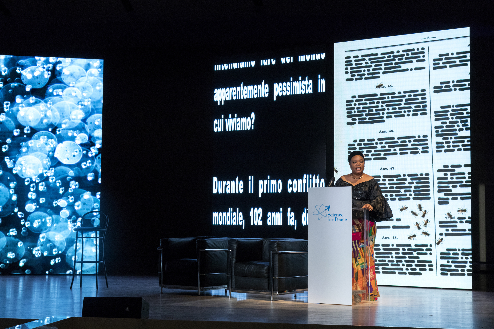 S4P Keynote Speeches - Leymah Gbowee, Premio Nobel per la pace 2011 e Presidente Gbowee Peace Foundation Africa